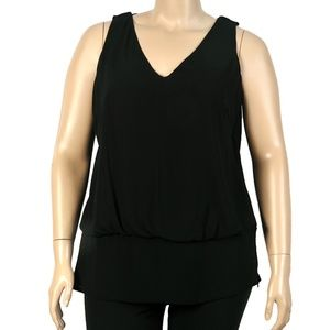 City Chic Tank with Detailed Back